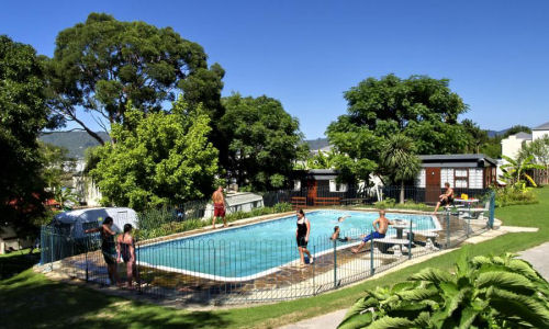 Holiday Accommodation, Monks Caravan Park, Knysna